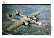 Wwii, Northrop P-61 Black Widow, 1940s Carry-all Pouch