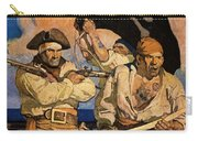 Wyeth: Treasure Island Carry-all Pouch