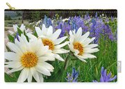 Wyethia And Camas Carry-all Pouch