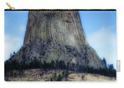 Wyoming Devils Tower With 8 Climbers August 7th 12 36pm 2016 With Inserts Carry-all Pouch