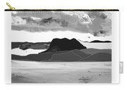 Wyoming Landscape 3 - B-w Carry-all Pouch