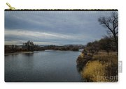 Wyoming Morning River Carry-all Pouch