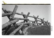 Wyoming Snow Fence Carry-all Pouch