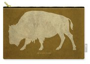 Wyoming State Facts Minimalist Movie Poster Art Carry-all Pouch
