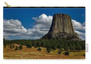 Wyoming's Devil's Tower Carry-all Pouch