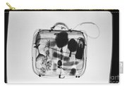 X-ray Of Suitcase Carry-all Pouch by Science Source