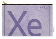 Xenon Xe Element Symbol Periodic Table Series 054 Carry-all Pouch
