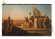 Xerxes At The Hellespont Carry-all Pouch
