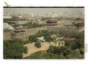 Xi'an City Wall With Skyline Carry-all Pouch