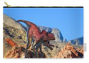 Xuanhanosarus In The Desert Carry-all Pouch