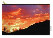 Y Cactus Sunset 6 Carry-all Pouch
