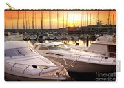 Yacht Marina Carry-all Pouch by Carlos Caetano