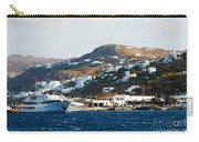 Yachts Docked At Port Skala Greece On Patmos Island Carry-all Pouch