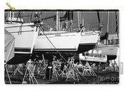 Yachts On Drydock Carry-all Pouch
