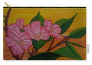 Yamazakura Or Cherry Blossom Carry-all Pouch