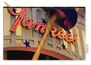 Yankee Clubhouse Carry-all Pouch by Joann Vitali
