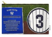 Yankee Legends Number 3 Carry-all Pouch