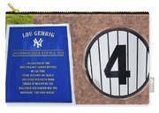 Yankee Legends Number 4 Carry-all Pouch