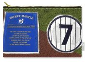 Yankee Legends Number 7 Carry-all Pouch