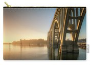 Yaquina Bay Bridge - Golden Light 0634 Carry-all Pouch