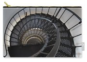 Yaquina Lighthouse Stairway Nautilus - Oregon State Coast Carry-all Pouch