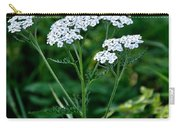 Yarrow Flowerheads Carry-all Pouch