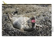Yawning Harbor Seal - Oregon Coast Carry-all Pouch