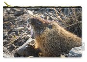 Yawning Marmot Carry-all Pouch