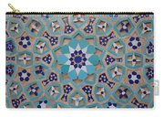 Yazd - Blue Mosaic Carry-all Pouch