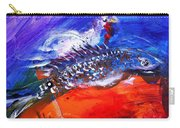 Year Of The Rooster Year Of The Fish Carry-all Pouch