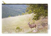 Yearling Mule Deer In The Pike National Forest Carry-all Pouch