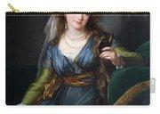 Yekhaterina Vasilievna Engelhardt, Countess Skavronskaya, Later Countess Litta E. Vigee-lebrun Carry-all Pouch