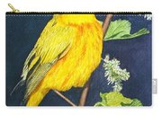 Yelllow Warbler Carry-all Pouch