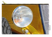 Yellow And Blue Hot Rod Headlight Carry-all Pouch