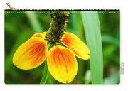 Yellow And Orange Clasping Coneflower Carry-all Pouch