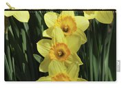 Yellow And Orange Daffodil  #2 Carry-all Pouch