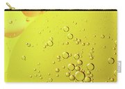 Yellow And Orange Oil Droplet On Water Carry-all Pouch