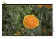 Yellow And Orange Poppy Carry-all Pouch
