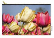 Yellow And Pink Tulips V 2018 Carry-all Pouch