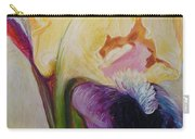 Yellow And Purple Iris  Carry-all Pouch