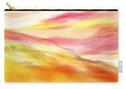 Yellow And Red Landscape Carry-all Pouch
