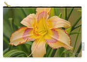 Yellow And Red Lily Carry-all Pouch