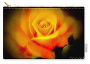 Yellow And Red Rose Carry-all Pouch