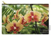 Yellow And Red Spotted Phalaenopsis Orchids Carry-all Pouch