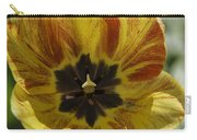 Yellow And Red Tulip Center Squared Carry-all Pouch