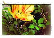 Yellow And Red Tulip Carry-all Pouch