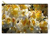 Yellow And White Azaleas Carry-all Pouch