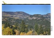 Yellow Aspen Carry-all Pouch