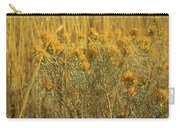 Yellow Autumn Blooming Carry-all Pouch