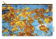 Yellow Autumn Leaves 2 Carry-all Pouch